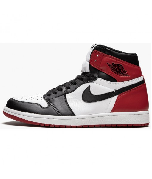 "High Quality Air Jordan 1 Retro High OG ""Black Toe"" 555088-125"