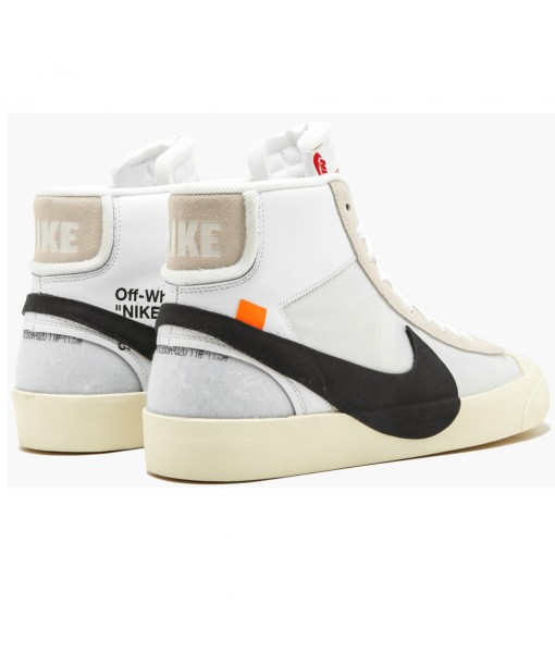 OG Quality Nike The 10 Blazer Mid 'Off-White' AA3832-100