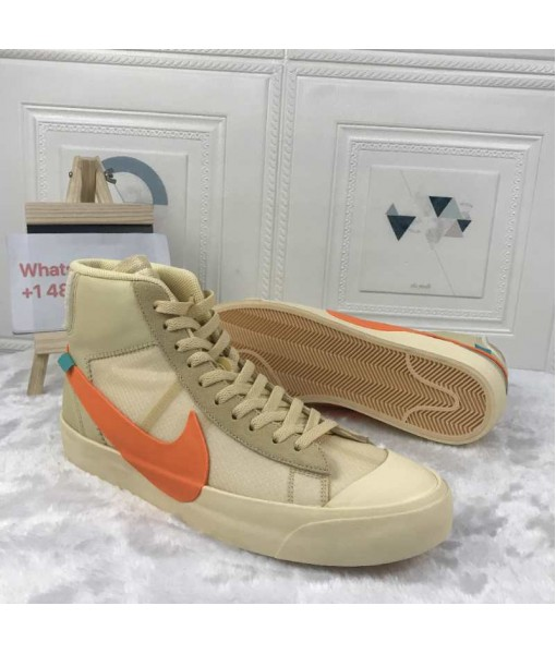 "OG Quality Off-White x Nike Blazer ""All Hallows Eve"" AA3832 700"