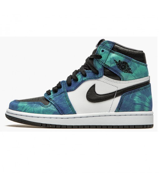 "Cheap Women's Air Jordan 1 High ""Tie-Dye"" CD0461 100 For Sale"