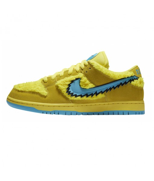 Buy Cheap Grateful Dead x Nike SB Dunk Low Yellow Bear Online