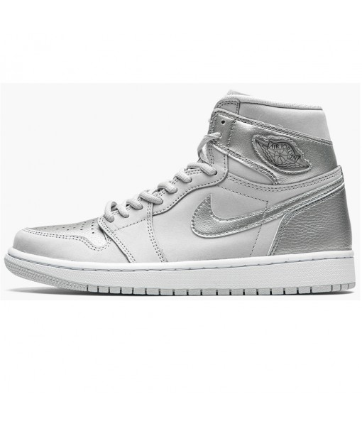 "2020 Air Jordan 1 High OG ""Co.JP - Metallic Silver"" DC1788 029 On Sale"