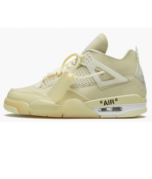 Air Jordan 4 Retro Off-White Sail (W) – CV9388-100 Online for sale