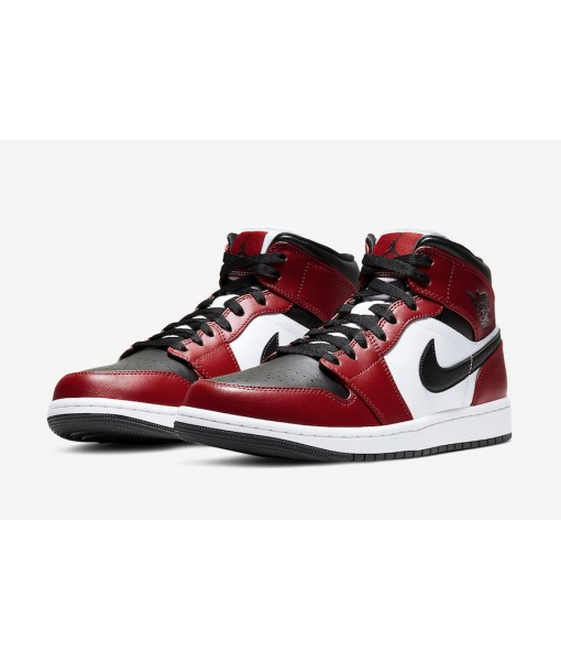 "Quality Replica Air Jordan 1 Mid ""Chicago Black Toe"" On Sale"