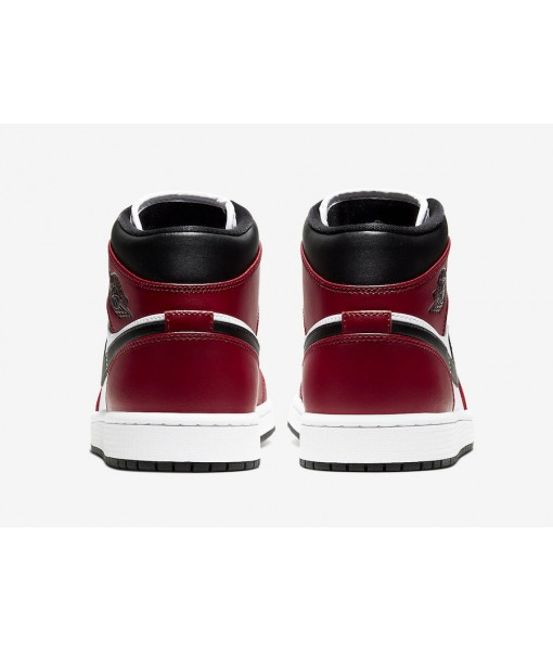 "Quality Replica Air Jordan 1 Mid ""Chicago Black Toe"" On Sale"