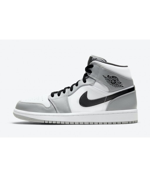 "Quality Replica Air Jordan 1 Mid ""Light Smoke Grey"" On Sale"