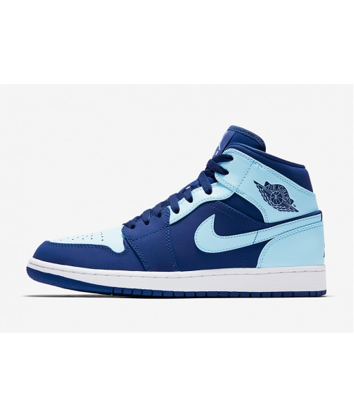 "Air Jordan 1 Mid ""Ice Blue""  On Sale"
