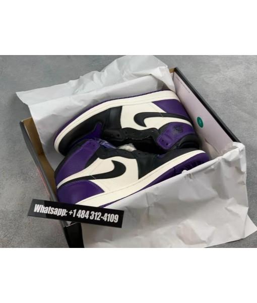 "Buy Best Replica Air Jordan 1 Retro High OG ""Court Purple"" Online"