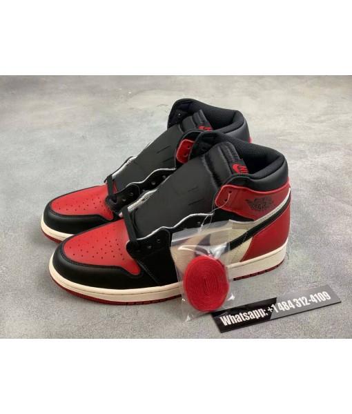 "Air Jordan 1 Retro High Og ""bred Toe"" Replica On Sale"