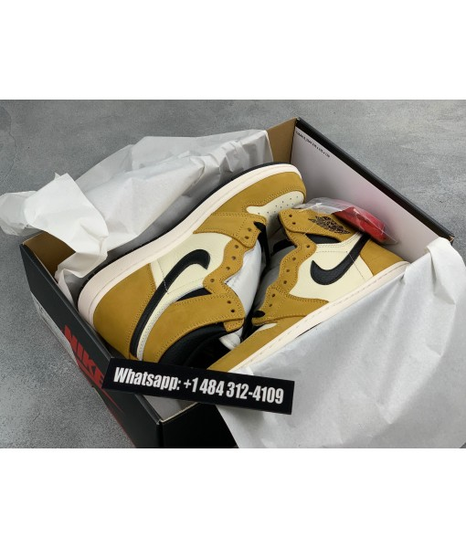 """Air Jordan 1 Retro High OG """"Rookie of the Year"""" Replica For Sale"""
