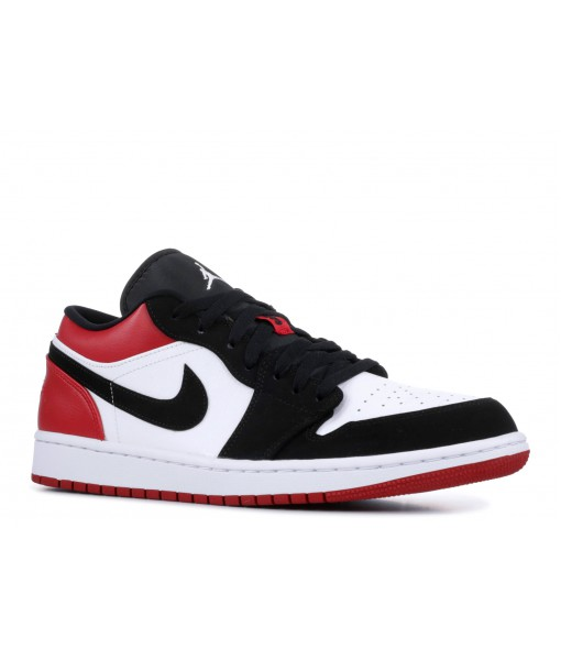 AIR JORDAN 1 LOW BLACK TOE replica for sale