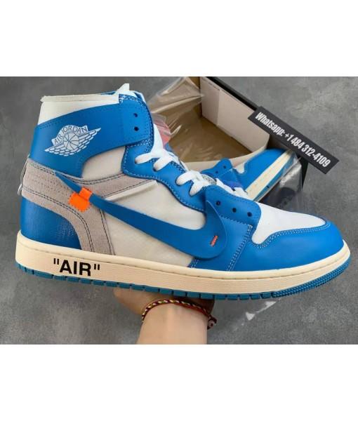 Cheap Jordan 1 Retro High Off-White University Blue For Sale