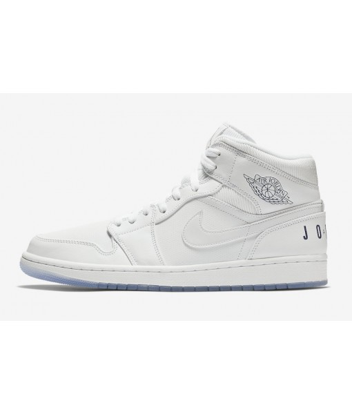 "Quality Replica Air Jordan 1 Mid ""White Ice"" On Sale"