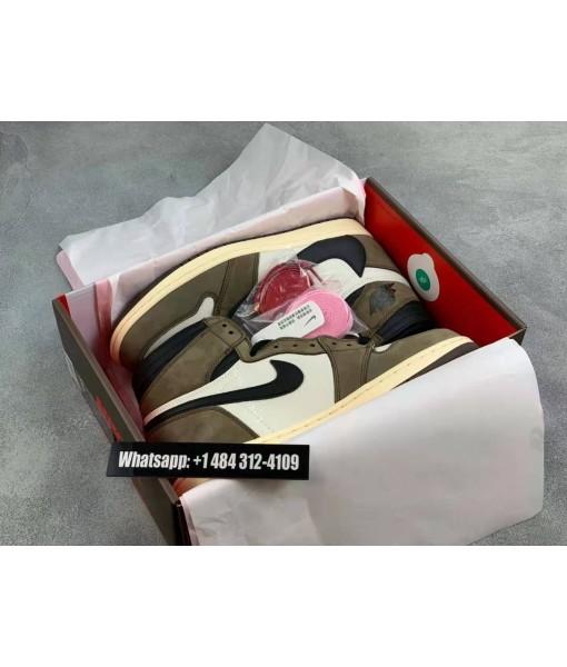 UA Air Jordan 1 High Og Ts Sp Travis Scott 2019 Replica On Sale