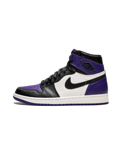 "Buy Best Replica Air Jordan 1 Retro High OG ""Court Purple"" Online"