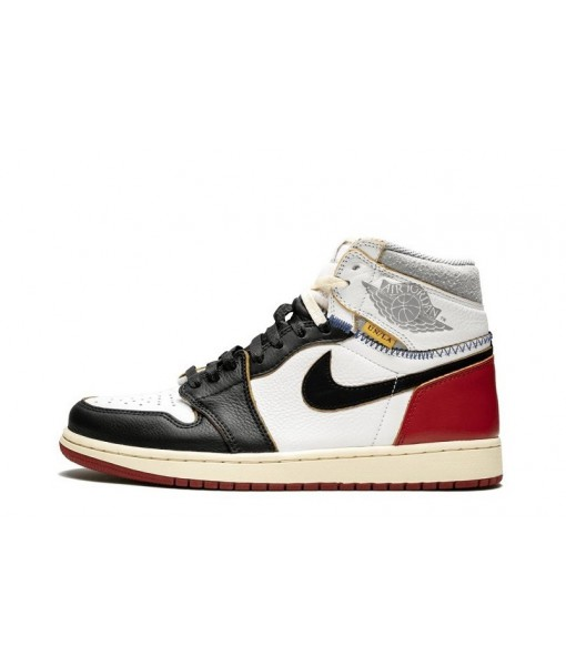 Union x Air Jordan 1 Retro 'Black Toe' for man&woman