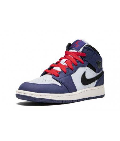 "Air Jordan 1 Mid SE GS ""Spider Man""Replica For Sale"