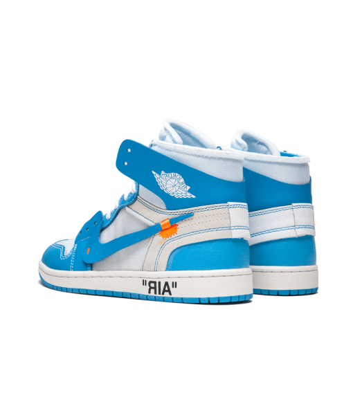 Cheap Jordan 1 Retro High Off-White University Blue For Sale