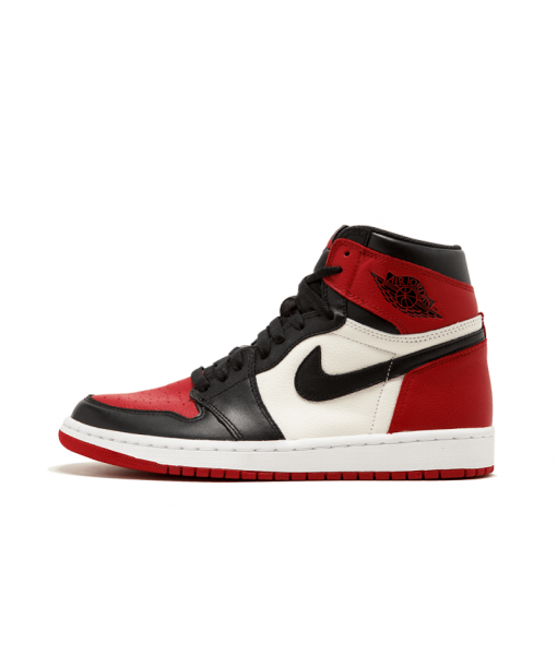 "Air Jordan 1 Retro High Og ""bred Toe"" Replica On Sale"