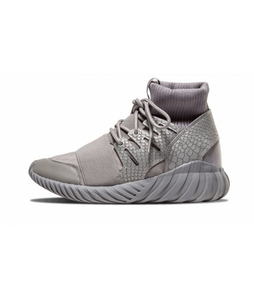 "Gray Adidas Tubular Doom ""Luxe Textile"" sneaker On Sale"