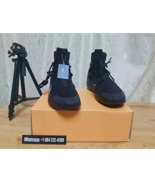 """2020 New Nike Air Fear of God 1 """"Triple Black"""" Hit Our Store"""