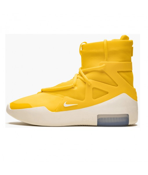 "Replica limited edition Nike Air Fear of God 1 ""Amarillo"" On Sale"