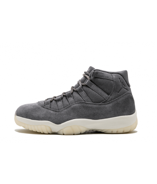 "New Air Jordan 11(XI) Retro Pinnacle ""Grey Suede"" Online for sale"