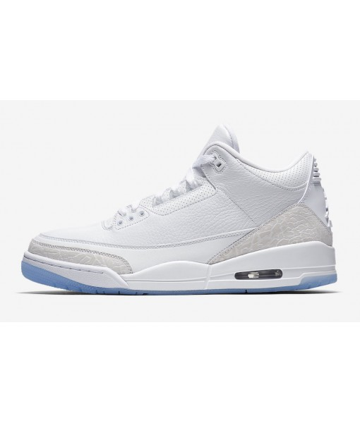 "Air Jordan 3 ""Pure White""  Online for sale"