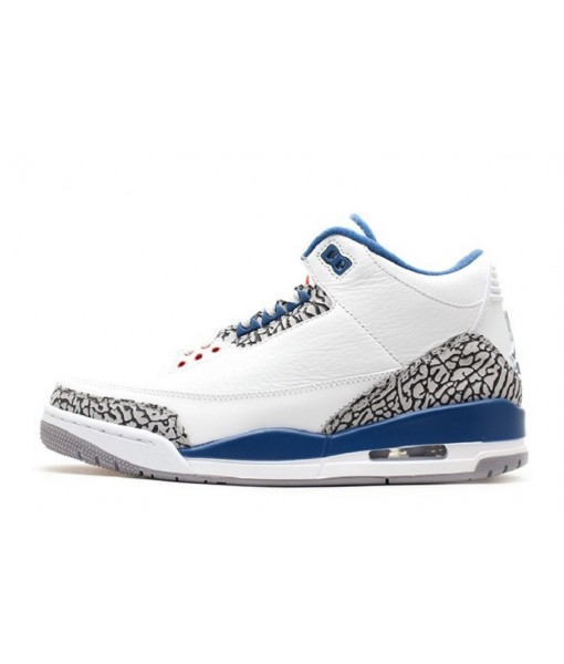 "Best Replica Air Jordan 3 Retro ""True Blue"" Online For Sale"