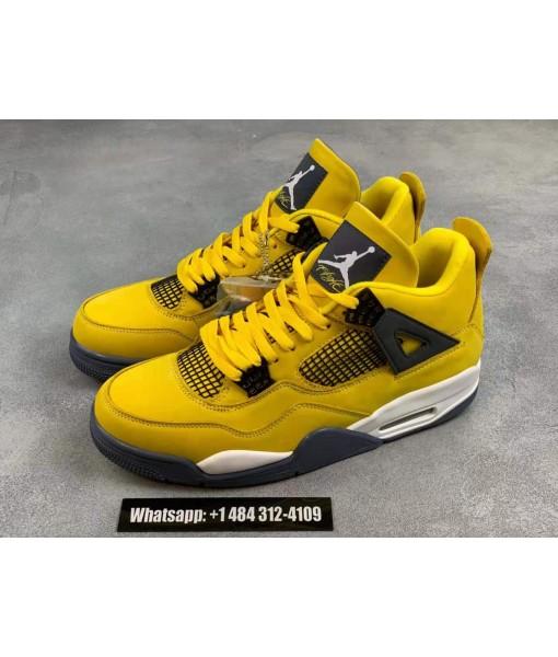 """Air Jordan 4 """"Lightning""""  Online for sale"""