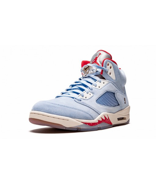 Trophy Room X Air Jordan 5 Retro Ice Blue Replica For Sale