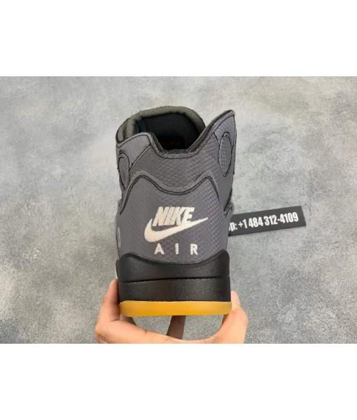 "AAA Quality Air Jordan 5 Retro SP ""Off-White"" Replica CT8480 001"