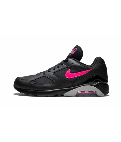 "The Cheapest High Imitation Nike Air Max 180 ""black Pink Blast"" Online For Sale"