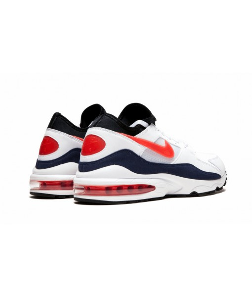 """High Imitation1:1 Air Max 93 """"habanero Red"""" Online For Sale"""