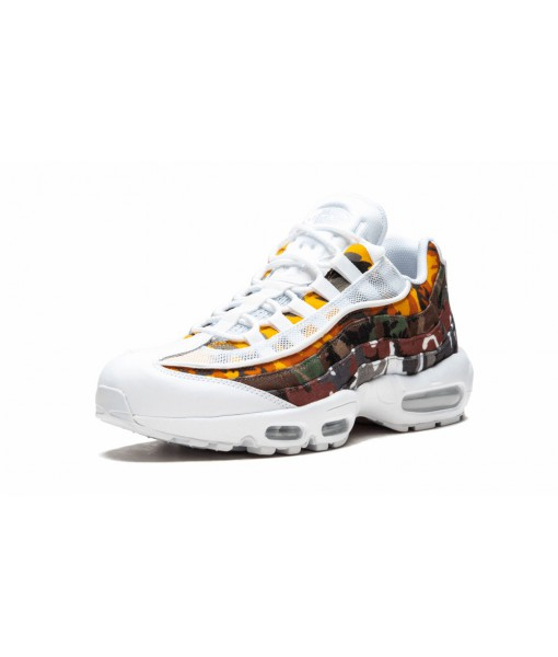 "The cheapest perfect quality 1:1 Nike Air Max 95 ""ERDL Party White"" Online For Sale"