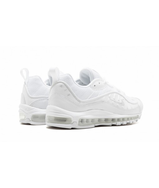 "High Imitation Nike Air Max 98 ""Triple White"" Online For Sale"