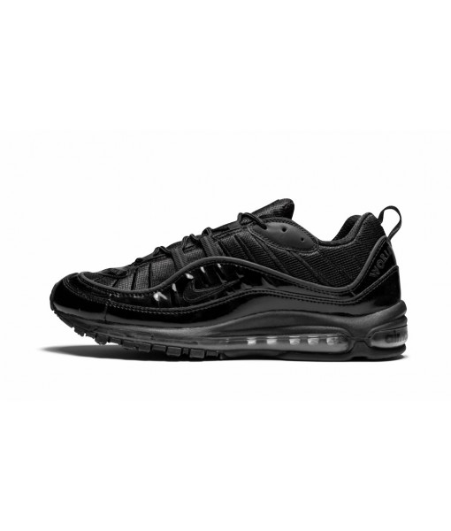 "High Imitation AAA Quality Nike Air Max 98 ""supreme Black"" Online For Sale"