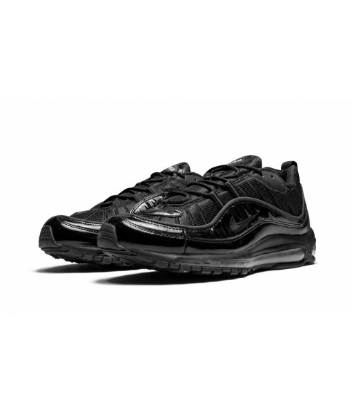 """High Imitation AAA Quality Nike Air Max 98 """"supreme Black"""" Online For Sale"""