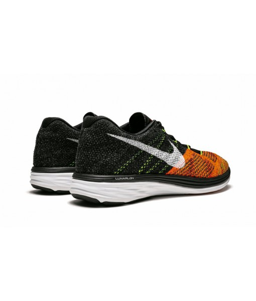 "Mens AAA quality Nike Flyknit Lunar3 ""Orange Toe"" Replica Online For Sale"