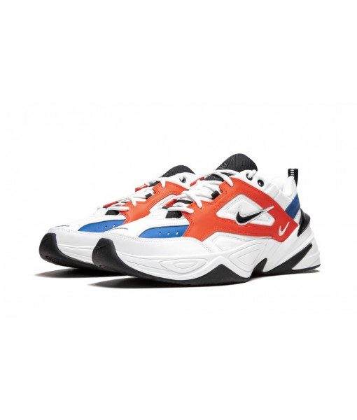 "Mens 1:1 Nike M2K Tekno ""White Black Orange"" Replica Online For Sale"