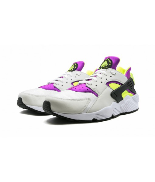 "Mens 1:1 Nike Air Huarache ""Run Neon Magenta"" Replica Online For Sale"