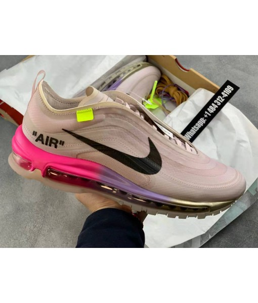 """Off-white X Nike Air Max 97 Serena Williams """"Queen"""" Online For Sale"""