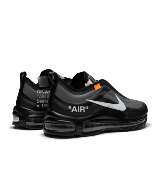 "Off-white X Nike Air Max 97 ""Black"" Online For Sale"