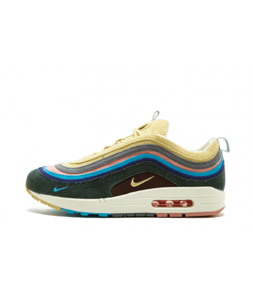 2018 Nike Air Max 97 Metallic Gold OG Retro Italy IT Size 10