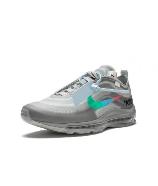"""Quality Replica Virgil Abloh Off-White x Nike Air Max 97 """"Menta"""" Online for sale"""