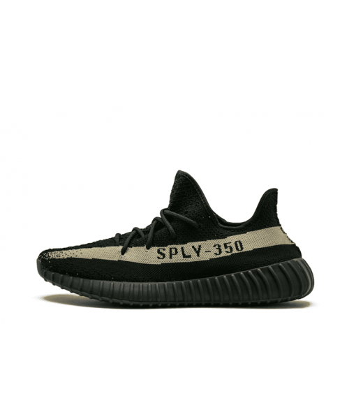 Yeezy Boost 350 V2 Black Green Replica Sneaker For Sale