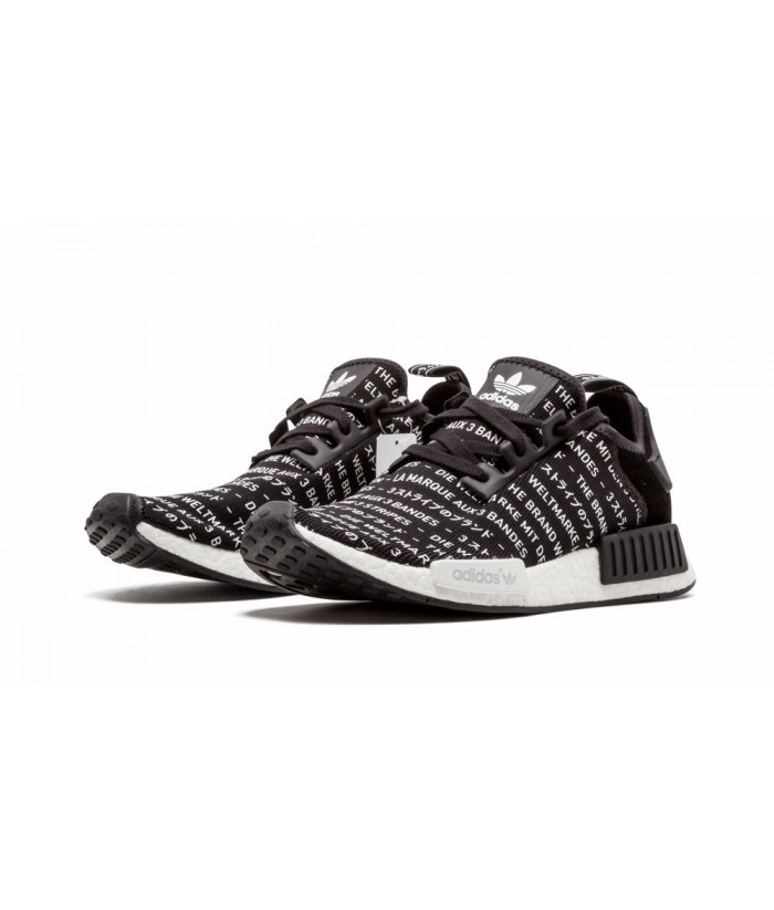 reputable site b3ac3 125f8 Fake Adidas Nmd r1 3 Stripes Replica, Buy All Black NMD R1 ...