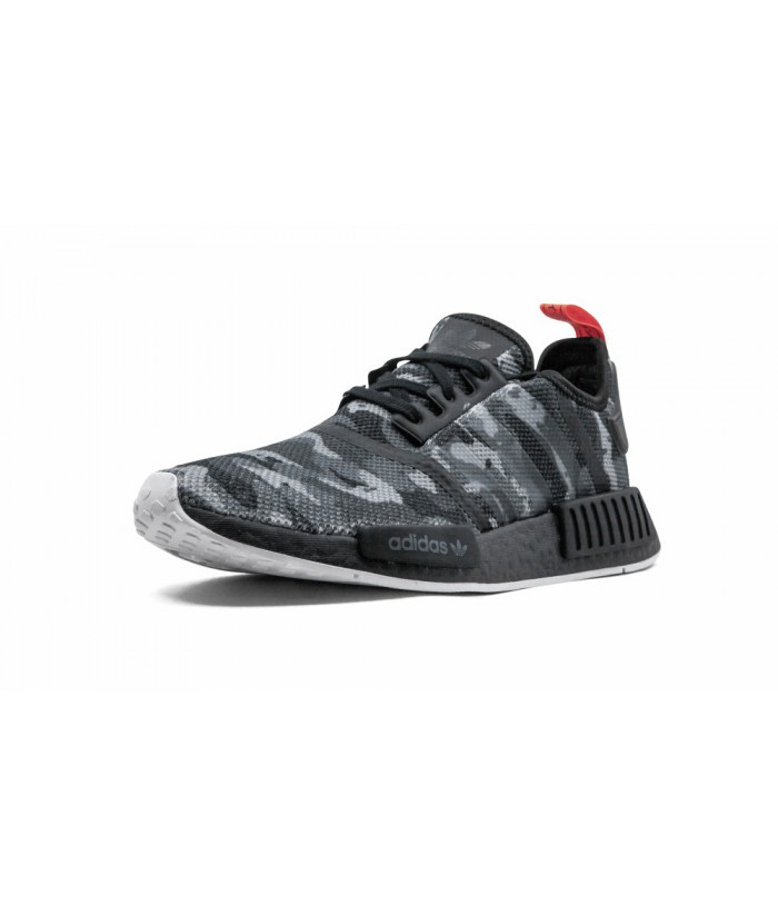 """outlet store 83dd2 b06d0 Cheap Mens Black adidas NMD R1 """"NYC Camo"""" Replica For Sale ..."""