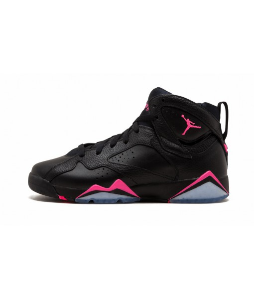 Cheap Jordan 7 Retro Black Hyper Pink (GS) Replica For Sale