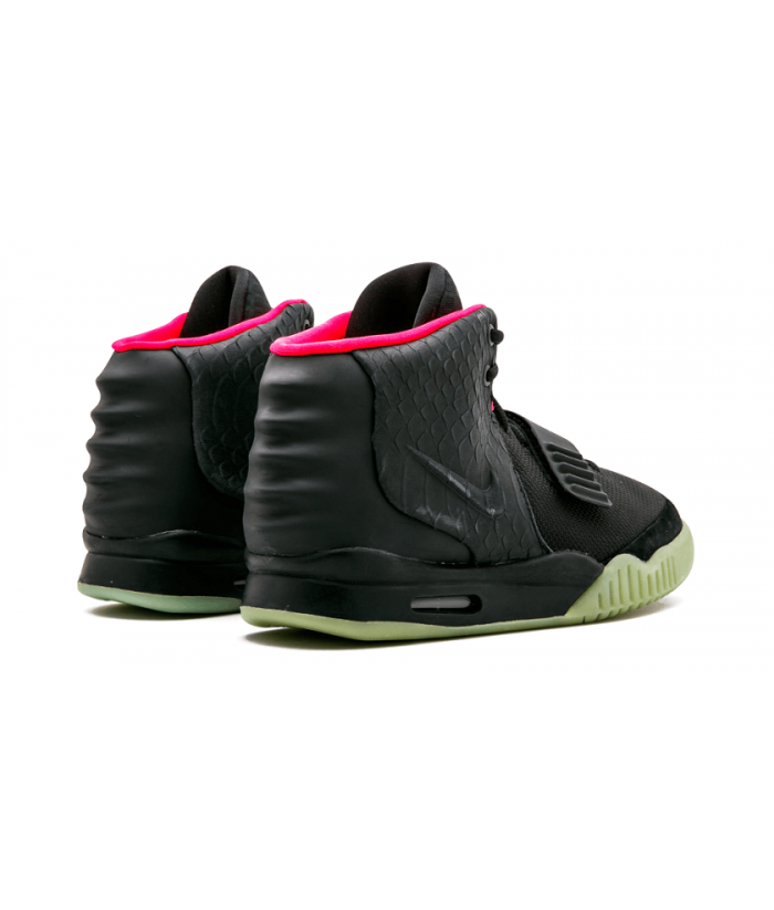 sale retailer f6c2c 1be6a Fake hign top nike air yeezy 2 nrg black solar 508214-010 ...